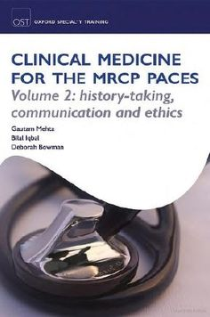 Download ebook handbook of signs symptoms 5th edition edited by clinical medicine for the mrcp paces volume 2 history taking communication and ethics 1st edition fandeluxe