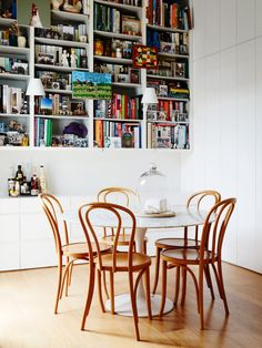 No.18 Thonet Bentwood Chairs Photo – Annette O'Brien. Production – Lucy Feagins / The Design Files.