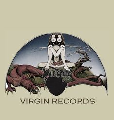 Virgin Records ad Roger Dean, Virgin Records, Label Design, Darth Vader, Metal, Movies, Movie Posters, Fictional Characters, Films