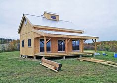 our 20x30 timber frame cabin kits are our most customizable and expandable design kits and
