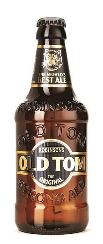 Robinsons Old Tom, bottle by Rawlings and Beatson Clark