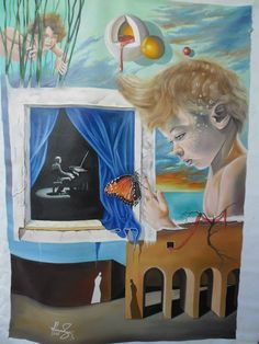 Mihai Adrian Raceanu, Painter from Romania #art #painter #painting #surrealism