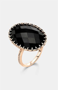 I die! Oval Stone Cocktail Ring. Ivanka Trump.