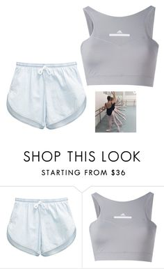 """untitled"" by bambi2014 ❤ liked on Polyvore featuring American Apparel and adidas"