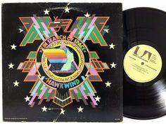 Hawkwind in Search of Space Original Die-Cut Cover UAS-5567 LP #VinylRecords