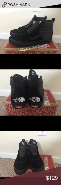 15453353ff4aa2 Vans x The north face 46 MTE DX Black authentic! brand new mens sizes Vans  Shoes Sneakers