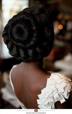Beautiful hair art