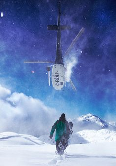 Heli boarding is in my near future! Def wanna try doing this within the next 10 years while my skills are at par (: #Dream