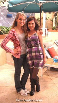 Erin Sanders and Katelyn Tarver - Personal Pics