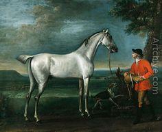 1743-1746 ca.  Grey Carey, Son of Grey Ramsden.   By  John Wootton. artchive.com suzilove.com
