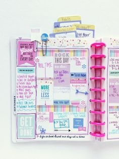 mom's purple-themed BACK TO SCHOOL spread by mambi Design Team member Mary-Ann Maldonado | me & my BIG ideas