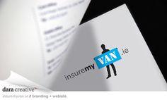 insuremyvan.ie website design