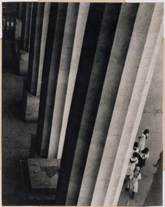 Alexander Rodchenko: View of the colonnade, Museum of the Revolution, Moscow | Canadian Centre for Architecture (CCA)