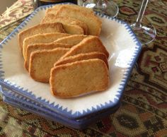 Another irresistible recipe from Abby Dodge! Spicy Parmesan Sables