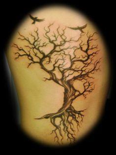 . tree rib tattoo - Google Search