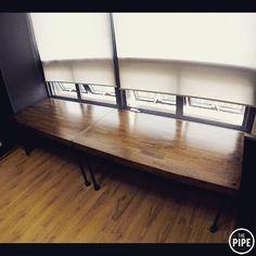 THEPIPE 6BG 테이블 - 서초 (1600w800d750h/2ea) #파이프테이블 #6BG #파이프가구 #파이프인테리어 #파이프디자인 #사무실인테리어 #제작가구 #서초 #더파이프 #pipetable #pipefurniture #pipeinterior #pipedesign #THEPIPE by thepipe_korea