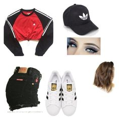 """""""Untitled #393"""" by pizza-lover02 ❤ liked on Polyvore featuring adidas and adidas Originals"""