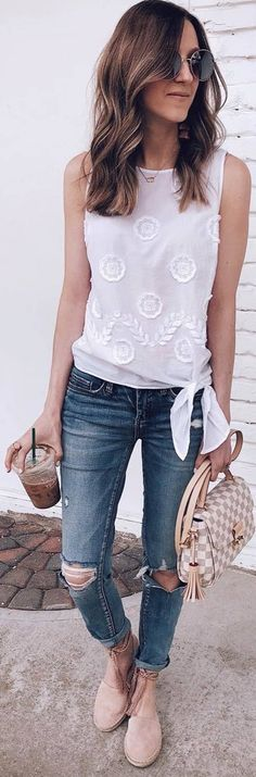 40 Cool Looks To End Summer Weekends Mom Style, Simple Style, Spring Summer Fashion, Spring Outfits, Laid Back Style, Looking Gorgeous, Summer Wardrobe, What To Wear, How To Look Better