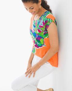 Kamila Short-Sleeve Top
