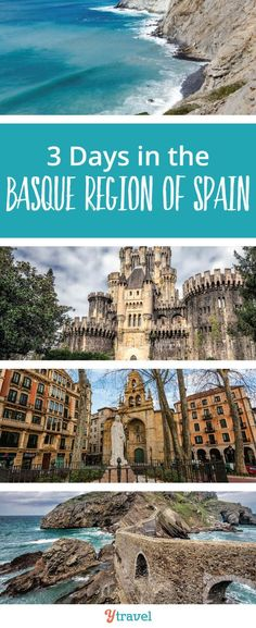 Thinking about a trip to the Basque region of Spain. Check out this 3 day itinerary. #Spain #BasqueCountry #Europe