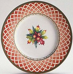Christmas China by Fitz and Floyd