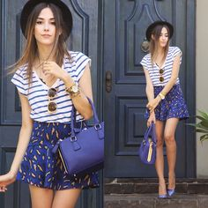 Flávia Desgranges van der Linden - Gap T Shirt, Amaro Skirt, Iclothing Bag - Be Still