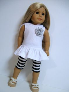 American Girl Doll Clothes  Summer Fun by 123MULBERRYSTREET