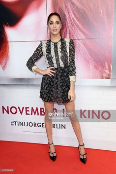 Martina Stoessel attends the Showcase Of Tini: Violettas Zukunft on October 16, 2016 in Berlin, Germany.