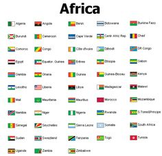 list of Africa with Countries | Africa - 53 Countries Europe - 49 Countries Asia - 43 Countries ...
