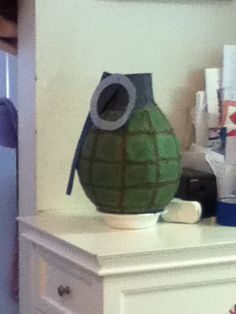 Grenade pinata I made for my daughter's  JROTC themed birthday party.
