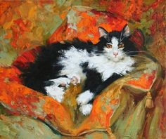 Maria Pavlova cats