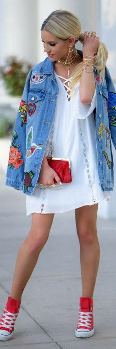 DENIM DAYZ   // Summer Outfit Idea by Shanda Rogers