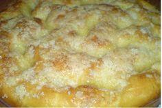 """Безумно вкусный и простой сахарный пирог """"Tarte au sucre"""""""