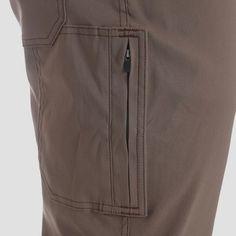 Wrangler Men's Outdoor Stretch Nylon Utility Pants - Bison 29x30