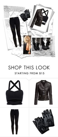 """""""Dauntless"""" by aphrodite-fashion on Polyvore featuring H&M and Givenchy"""