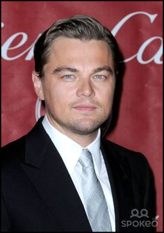 Leonardo DiCaprio attends the 2009 Palm Springs International Film Festival Awards Gala held at the Convention Center.