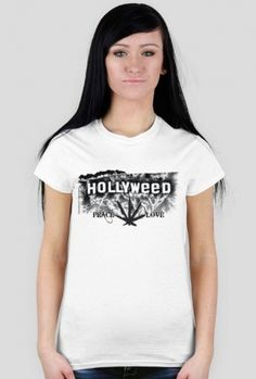 424bbc04f Koszulki damskie · Koszulka damska HOLLYWEED Techno, Styl, Topy, Moda,  Tatoo, Produkty