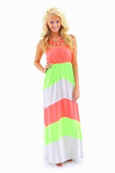 Simply the Best Maxi Dress-Hot Pink - $40.00