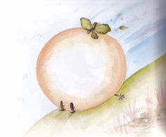 Sponge and Spiker from James and the Giant Peach by Babette Cole The Giant Peach, Roald Dahl, Read Aloud, Childrens Books, Songs, Movie, Disney Princess, Inspiration, Ideas