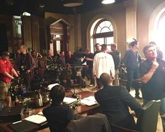 Barry O' Brien  Nov 2015 Behind the scenes of Castle Episode Written By Terence Winter. Directed by Bill Roe. Best crew ever. Castle Season 8, Terence Winter, Castle Tv Shows, Executive Producer, Behind The Scenes, Seasons, Concert, Seasons Of The Year, Concerts