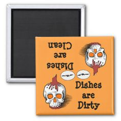Shop Skull Halloween Dishwasher Magnet created by pbkooistra. Personalize it with photos & text or purchase as is! Christmas Holidays, Christmas Gifts, Funny Magnets, Dishwasher Magnet, Round Magnets, Halloween Skull, Paper Cover, Personalized Gifts, Shapes