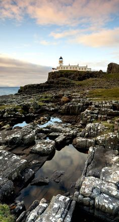 Amazing Neist Point Lighthouse on the Isle of Skye in Scotland | Top 10 Tourist Attractions in Scotland