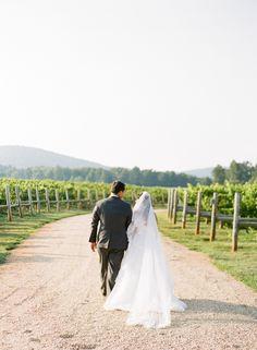vineyard wedding | Ashley Cox