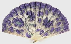 Fan, late 19th century, early 20th century. The Philadelphia Museum of Art.