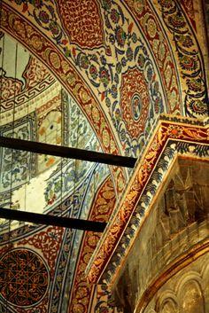 Hagia Sophia interior, Istanbul, Turkey – Francisco Ruiz Sánchez – Join the world of pin Hagia Sophia, Islamic Architecture, Art And Architecture, Beautiful World, Beautiful Places, Sainte Sophie, Byzantine Art, Turkish Art, Istanbul Turkey