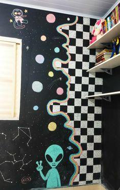 Indie Room Decor, Cute Bedroom Decor, Bedroom Art, Hippie Painting, Trippy Painting, Painting & Drawing, Cute Canvas Paintings, Mini Canvas Art, Indie Art