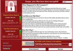 Ransomware WannaCry - Seuls les négligents ont été touchés - Plus de 20.000 victimes, des centaines de milliers d'ordinateurs infectés dans 150 pays, une usine Renault fermée en France. La cyber attaque massive du weekend dernier fait la une des journaux ...