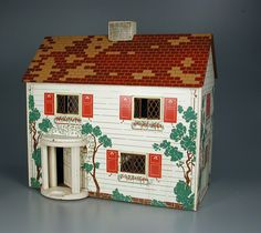 104.644: Six-Room Dollhouse | dollhouse | Dollhouses | Toys | Online Collections | The Strong