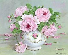 GAIL MCCORMACK pinc flowers