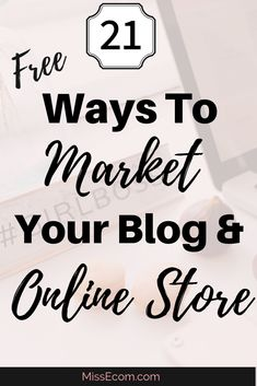Are you selling t-shirts and mugs from your blog but not sure how to get traffic to your shop? By using Print On Demand you can do just this.How do you promote and market your store? Here is a list of 21 Free ways to get more eyeballs to your blog. The one I recommend to all my clients is...